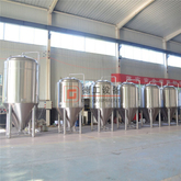 7bbl stacked fermenters and unitanks brite tank serving tank can be available from DEGONG factory