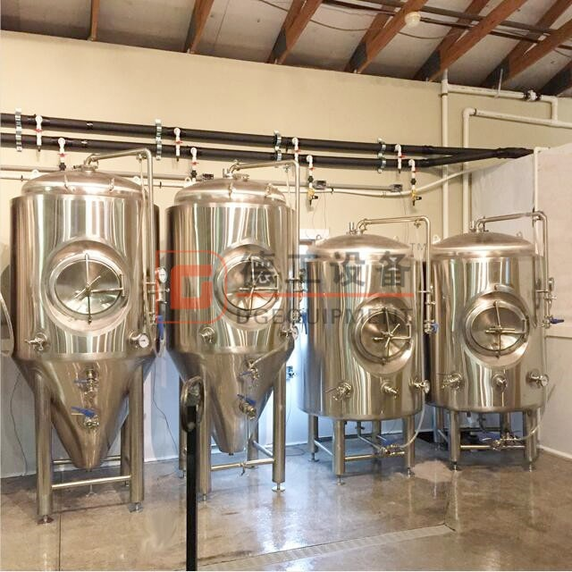 Best beer making equipment 10bbl cellar tanks fermenting vessel with insulation for sale
