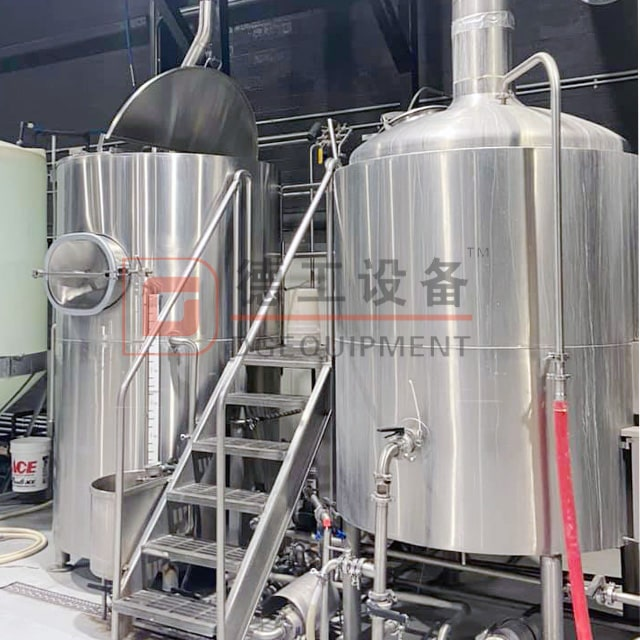 1500L Food Grade Stainless Steel 304 Combined Steam Heated 2/3/4 Vessel Beer Brewhouse Commercial Brewing Equipment Used