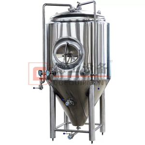 1000L High Quality Stainless Steel Fermentation Tank Cylindrically-conical Tanks with A Modular Construction for Sale