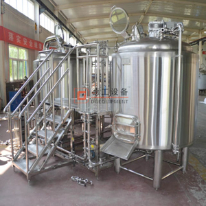 Craft Brewing System Highest Grade Stainless Steel 1000L Beer Production Line
