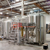 2000L automatic industrial stainless steel beer brewery equipment for sale
