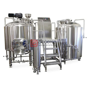 500L Microbrewery Equipment with High Quality Stainless Steel Electric Heating Double Jacket for Sale European America Global Customers