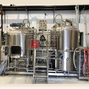 500L stainless steel brewing equipment For Pub / Restaurant brewery equipment in stock