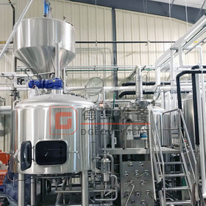 3.5BBL-10BBL Customized Beer Brewery Equipment Craft Brewhouse for Top/bottom Fermentation