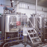 800L 7BBL Safe And Convenient SUS304/316 Beer Brewing Equipment Steam Heated Brew Kettle Beer Brewhouse