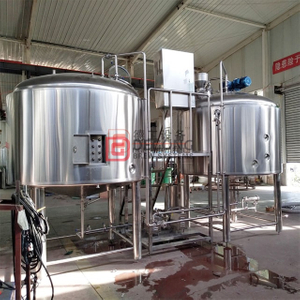 2000L Middle Scale Commercial Industrial Customizable Beer Brewing Tank Production Line