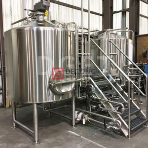 1000L automatic steam heated micro brewhouse beer brewing equipment manufacturer