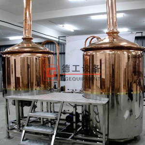 3.5 BBL (400 liters) brewhouse system stainless steel tanks easy to operate for sale