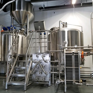 2000L Professional Designed Turnkey Brewing System Commercial Used Brewery Equipment for Sale