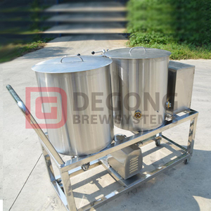 1HL CIP Station Mobile stainless steel tank 2tank 3tank