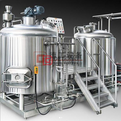 500L 2 Vessles Brewhouse Stainless Steel Microbrewery Commercial Beer Production Line for Sale