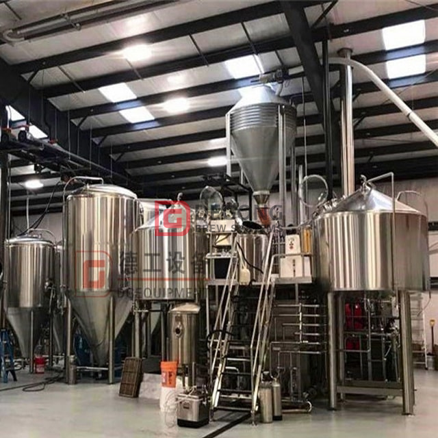 Brewery 1000L Brewhouse 3 Vessels with Steam Steam Generator Superior Stainless Steel Construction