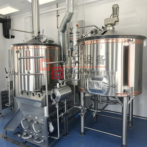 Steam Combined Electric Heating 1000L Stainless Steel Automatic Beer Brewing Equipment