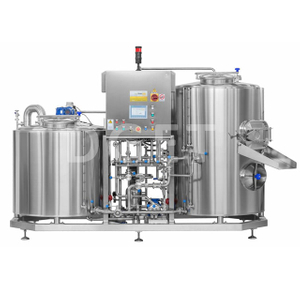 5BBL Small Scale micro brewery equipment electric&steam heating combined beer mashing system