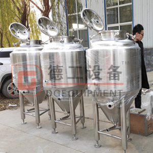 100L 200L 300L small scale fermentation tank stainless steel approved by european standard