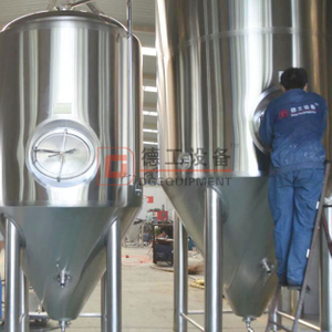 PU insulation conical beer fermentation 1000l unitank with sus304/316 construction for sale