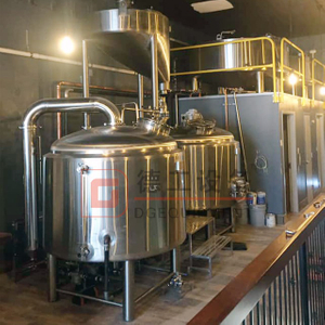 3.5BBL Beer Mashing System for Production Beer Customized Semi-automatic Controlled for Sale