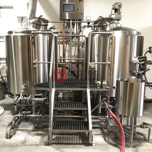 10HL Advanced Home Brewing Equipment Commercial Brewery Equipment Industrial Combined Two Vessel Brewhouse