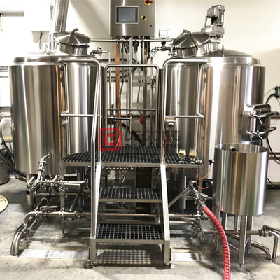 1000L Industrial Automated 2-vessel Craft Beer Brewing Equipment for Sale
