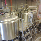 1000L Commercial Used SUS304 Insulated 3 Vessels Beer Equipement