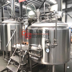 20HLcraft jacket brewhouse equipment applied in brewery and restaurant for sale
