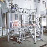 China Brew System Complete of 500L 1000L 1500L Brewery Tank Stainless Steel 304/316 Beer Making Machine for Sale