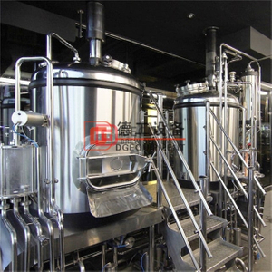5BBL Craft Beer Brewery Stailess Steel Micro Beer Brewing Equipment with Electric&steam Heating