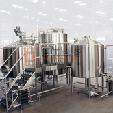 2000L Automatic PLC Control Commercial Used Brewery Equipment Professional Brewing System Made in China