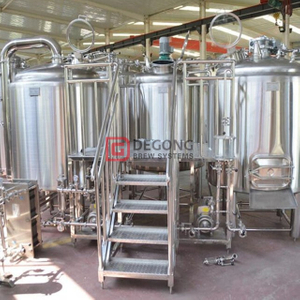 Brewhouse 1000L Industrial Professional Beer Brewing Equipment Manufacturer with Double Jacket Fermenter for Sale