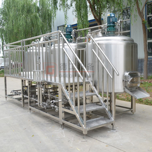 500L Customized Pub Brewing Systems Steam Heating Micro Brewery Beer Brewhouse with 3mm Thickness SS304