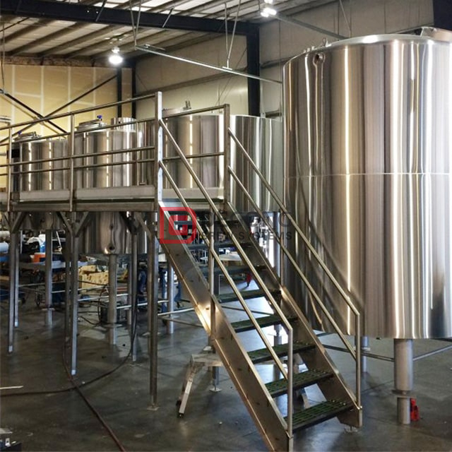 Stainless Steel Beer Brewing Equipment 2000L Beer Production Line Brewery Manufacturer Automatic Machinery Equipment for Sale