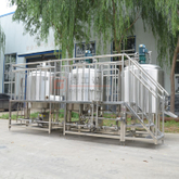5bbl Electric&Steam heating stainless steel micro brewery equipment complete brewing system