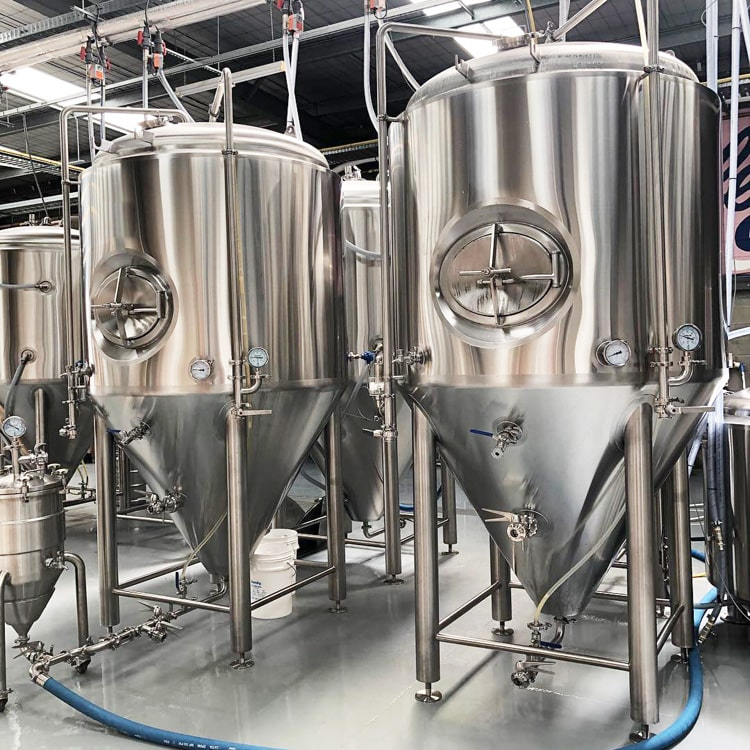 1000L Complete Brewery Equipment Industrial Mash Lauter Brew Kettle Beer Fermenting Vessels for Sale