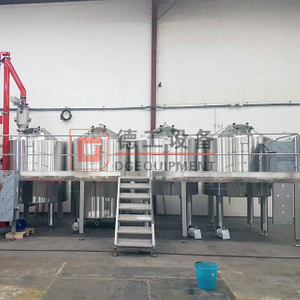 Hot Product 3000L Stainless Steel Beer Brewery Equipment Industrial Brewery 3-4vessel Brewhouse System