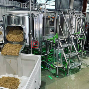New 7BBL widely brewery equipment beer machinery with fermenting vessel & BBT