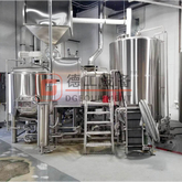 Customized 1000L Brewery Plant Combined Steam 3-vessel Beer Brewhouse Manufaturer For All Grain Beer Brewing