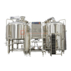 5BBL Restaurant Used Micro Brewery Stainless Steel 2/3/4 Vessels Beer Mashing Equipment for Sale