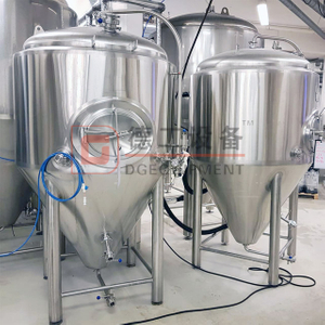 300L 500L 1000L 1500L Jacket Fermentation Tank Conical Beer Fermenter Brewery Tanks for Sale