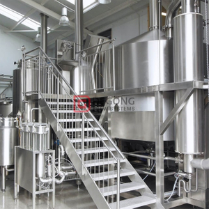 10BBL/20BBL commercial brewing equipment CE/TUV Certification double wall small/medium/large brewery equipment for sale