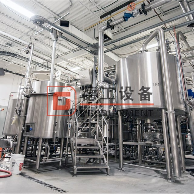 20BBL 2500L Commerical Use High Automation Professional Large Brewery Equipment for Wheat/barley/sorghum Beer